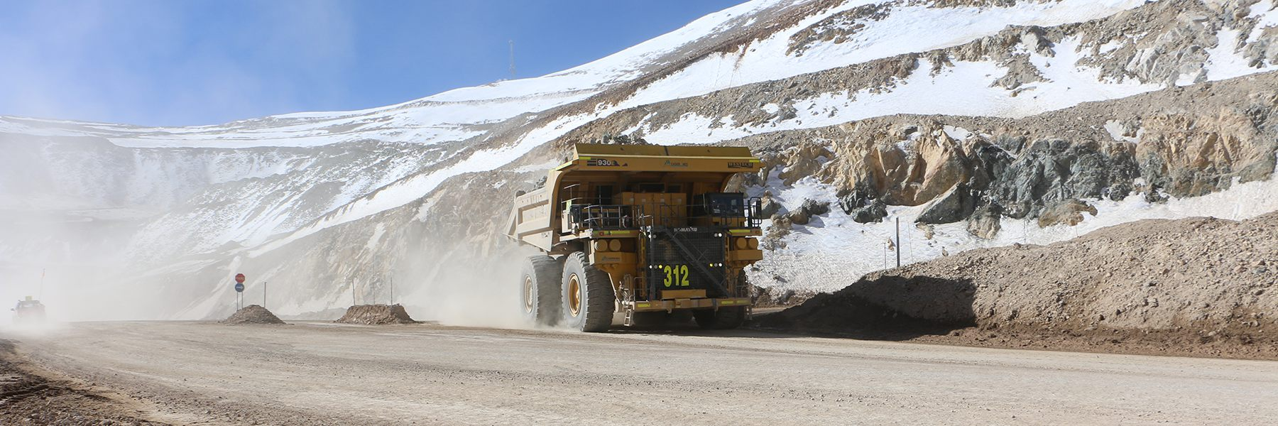 Chile Mining Road